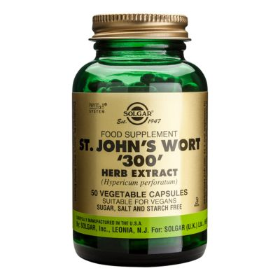 St John's Wort ' 300' Herb Extract Vegetable Capsules