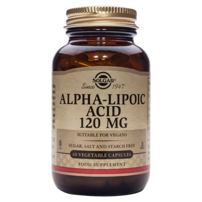 Alpha-Lipoic Acid 120 mg Vegetable Capsules