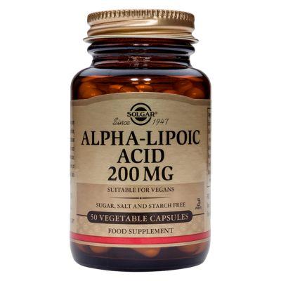 Alpha-Lipoic Acid 200 mg Vegetable Capsules