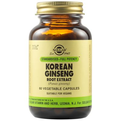 Korean Ginseng Root Extract Vegetable Capsules