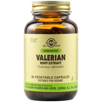 Valerian Root Extract Vegetable Capsules