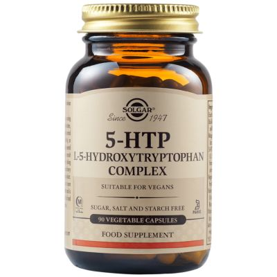 5-HTP L-5-Hydroxytryptophan Complex Vegetable Capsules