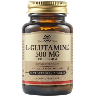 L-Glutamine 500 mg Vegetable Capsules