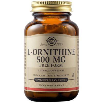 L-Ornithine 500 mg Vegetable Capsules