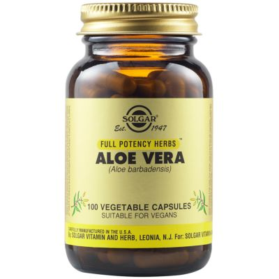Aloe Vera 520 mg Vegetable Capsules