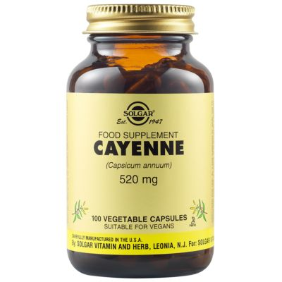 Cayenne 520 mg Vegetable Capsules