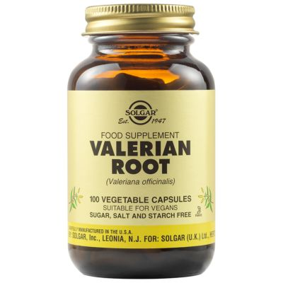 Valerian Root Vegetable Capsules