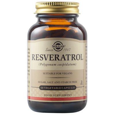 Resveratrol 100 mg Vegetable Capsules