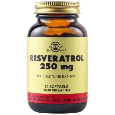 Resveratrol 250 mg Softgels