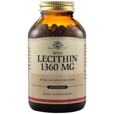 Soya Lecithin 1360 mg Softgels